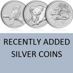 Recently Added! Silver Coins